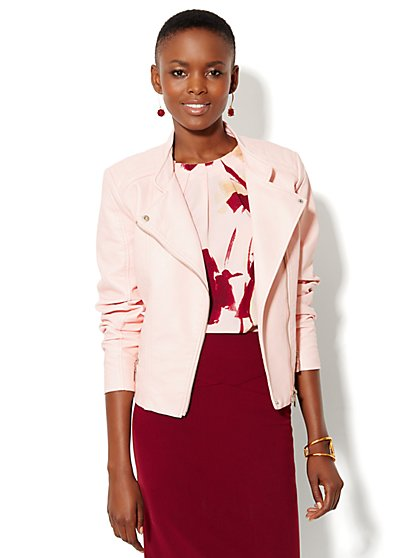 Seamed Moto Jacket - New York & Company