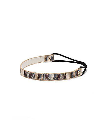 Sequin-Embellished Headband  - New York & Company