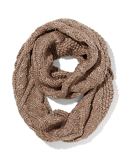Sequin Infinity Scarf  - New York & Company