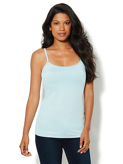 Shelf-Bra Camisole Shaper - Solid  - New York & Company