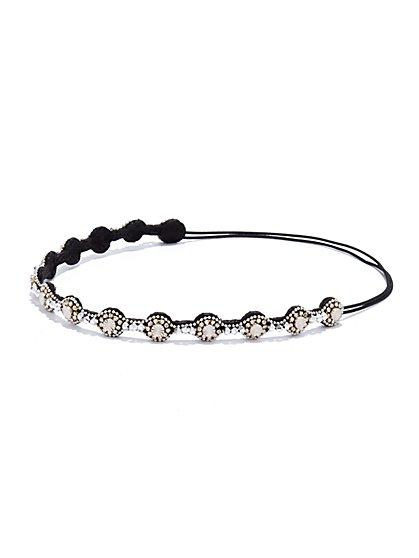 Shimmering Circular Headband - New York & Company