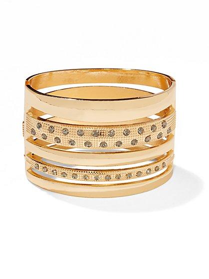 Shimmering Hinge Bracelet  - New York & Company