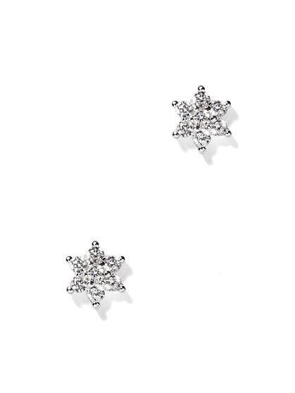 Shimmering Star Post Earring  - New York & Company