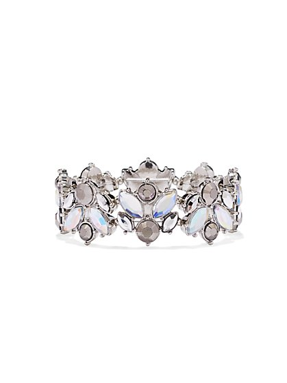 Shimmering Stretch Bracelet  - New York & Company