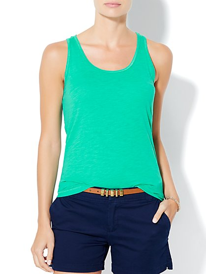 Shirred Tank Top  - New York & Company