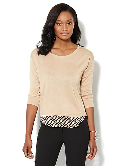Shirttail Sweater - New York & Company