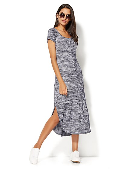 Shirttail T-Shirt Dress  - New York & Company