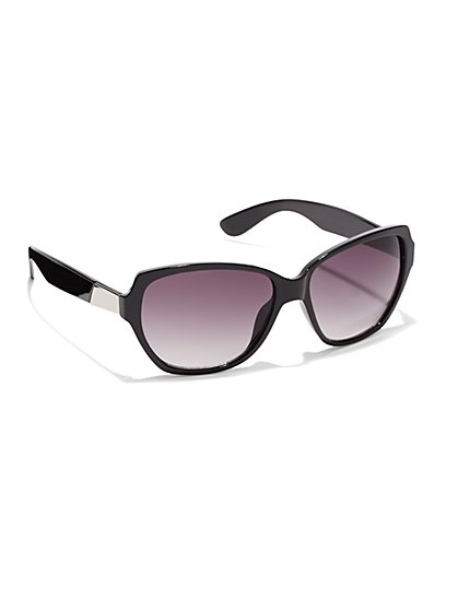 Silver-Accent Sunglasses