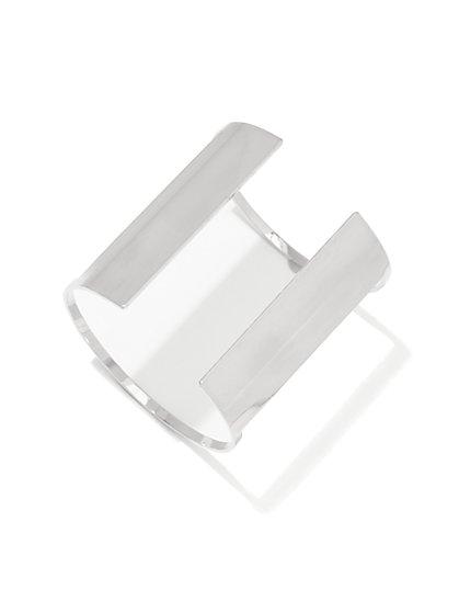 Silver Cuff Bracelet - New York & Company