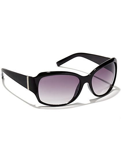 Silvertone-Accent Sunglasses  - New York & Company