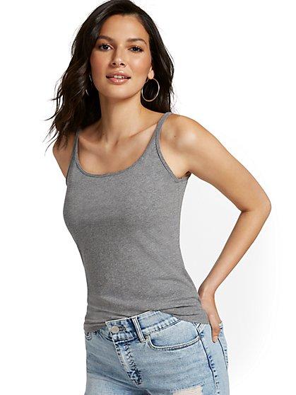 Skinny Cotton Tank Top  - New York & Company