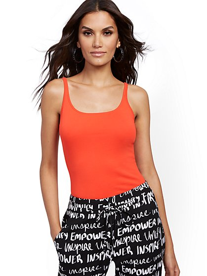Skinny Cotton Tank Top  - New York & Company