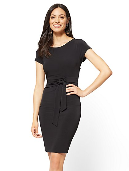 Sleeveless Hi-Lo Midi Dress - New York & Company
