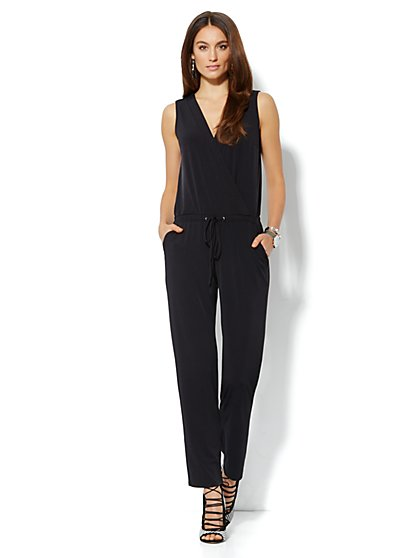 Sleeveless Jumpsuit - New York & Company