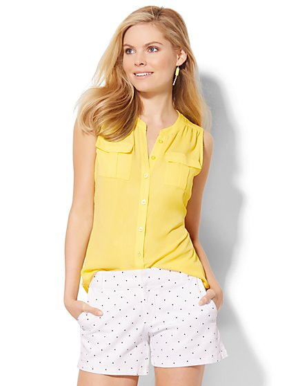 Sleeveless Soho Soft Shirt  - New York & Company