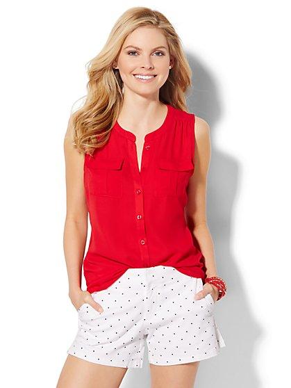 Sleeveless Soho Soft Shirt  - New York & Company