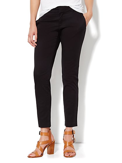 Slim Ankle Chino Pant - New York & Company