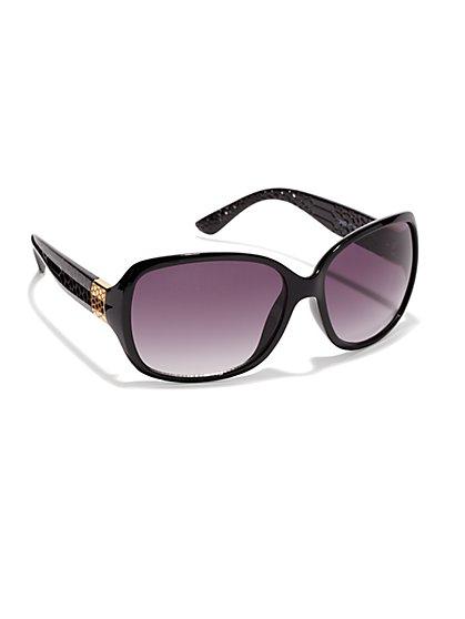 Snake-Embossed Sunglasses  - New York & Company
