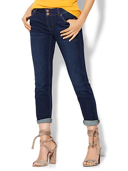 Soho Boyfriend Jeans - Highland Blue Wash  - New York & Company