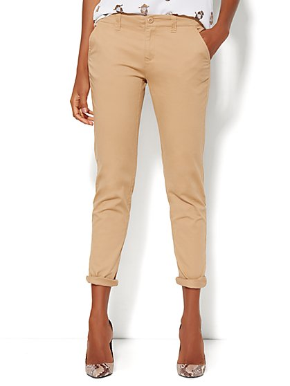 Soho Boyfriend Pant - Stretch Twill - New York & Company