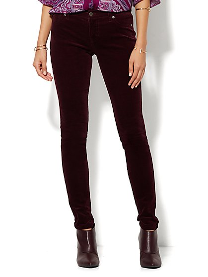 Soho Corduroy Legging  - New York & Company