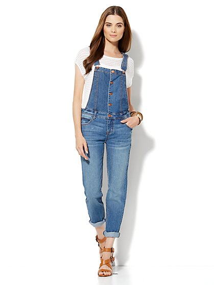 Soho Denim Overall - New York & Company