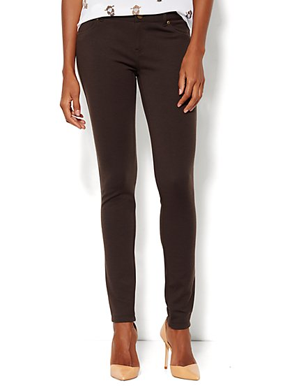 Soho Five-Pocket Ponte Legging  - New York & Company