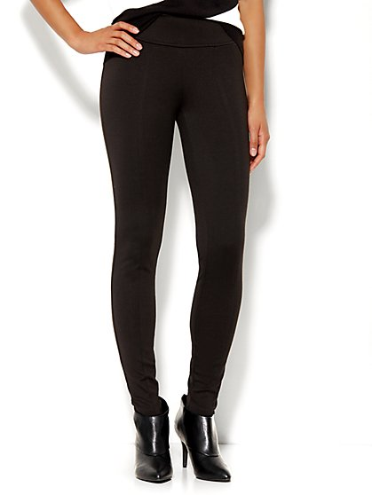 Soho High-Waist Ponte Legging  - New York & Company