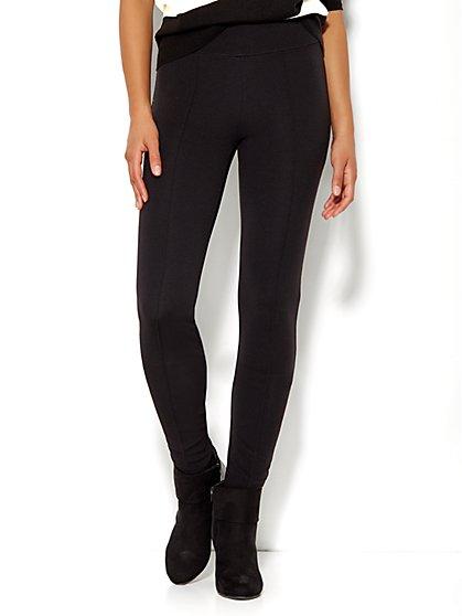 Soho High-Waist Seamed Legging  - New York & Company