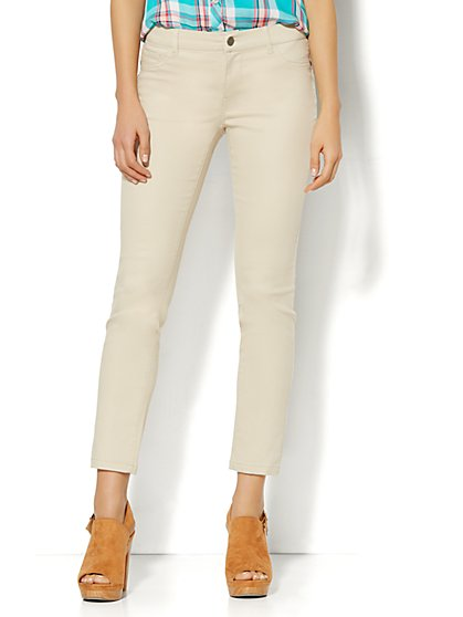 Soho Jeans - Ankle Legging - Driftwood  - New York & Company