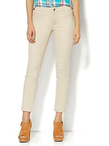 Soho Jeans - Ankle Legging - Driftwood  - New York & Company