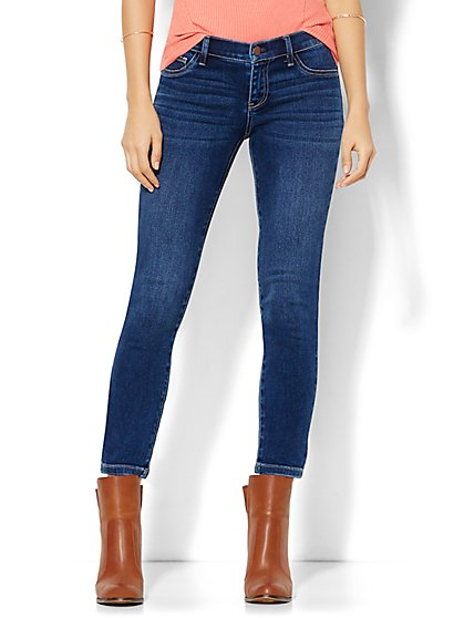 Soho Jeans - Ankle Legging - Force Blue Wash  - New York & Company