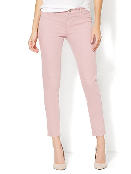 Soho Jeans - Ankle Legging - Mauve - New York & Company