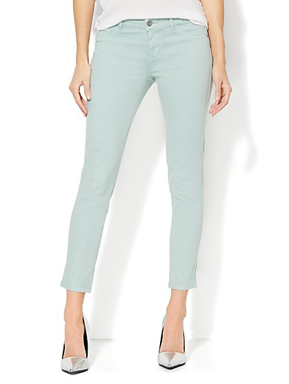Soho Jeans - Ankle Legging - Soft Mint - New York & Company