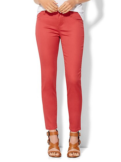 Soho Jeans - Ankle Legging - Solid  - New York & Company