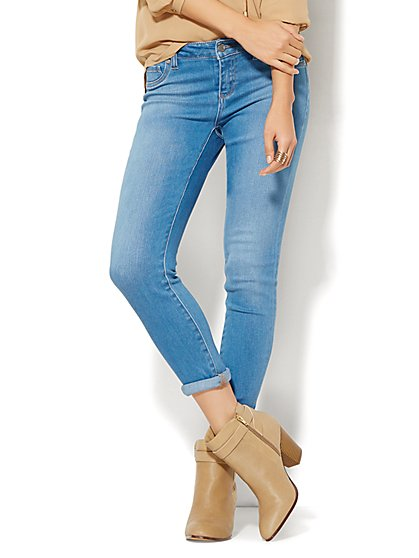 Soho Jeans - Ankle SuperStretch Legging - Blue Ultra Wash  - New York & Company