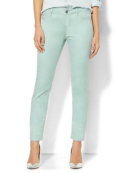 Soho Jeans - Ankle SuperStretch Legging - Solid  - New York & Company