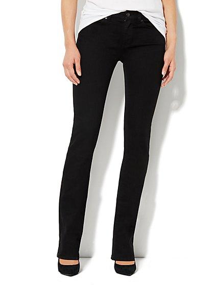 Soho Jeans Bootcut - Black - Petite - New York & Company