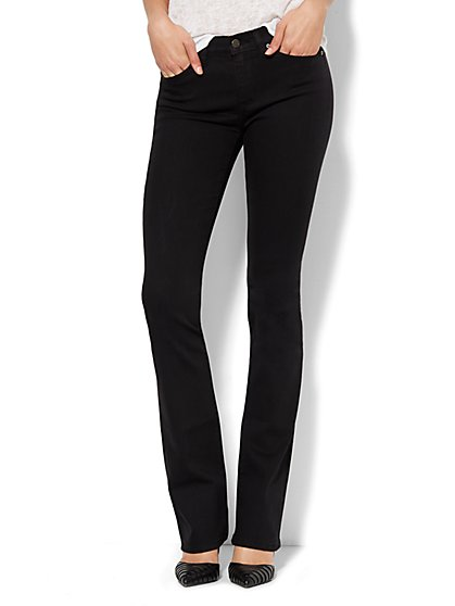 Soho Jeans - Bootcut - Black - Petite - New York & Company