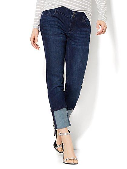 Soho Jeans - Boyfriend - Extreme Cuff  - New York & Company