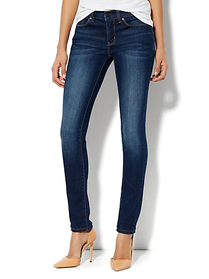 Soho Jeans City Slim Control  Skinny - Petite - New York & Company