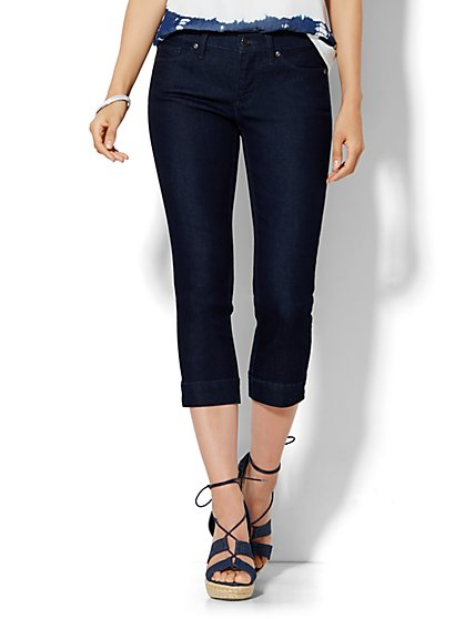 Soho Jeans City Slim Crop - Rinse  - New York & Company