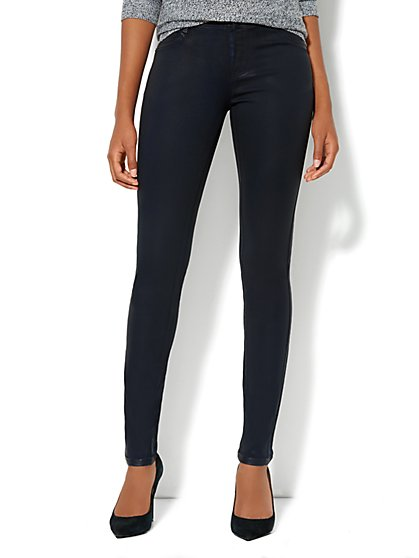 Soho Jeans Coated Legging - New York & Company