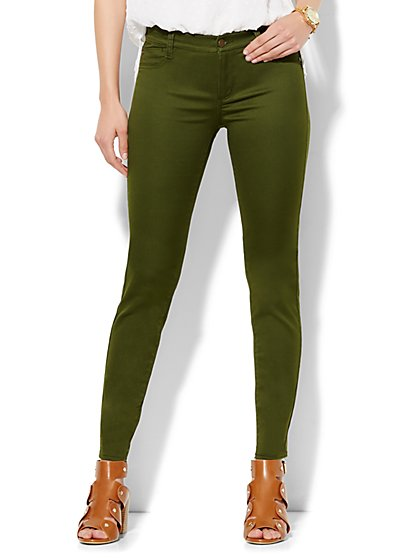Soho Jeans Color Legging - Released Hem  - New York & Company