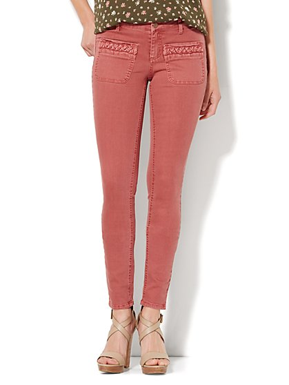 Soho Jeans - Color SuperStretch Legging - Spice  - New York & Company