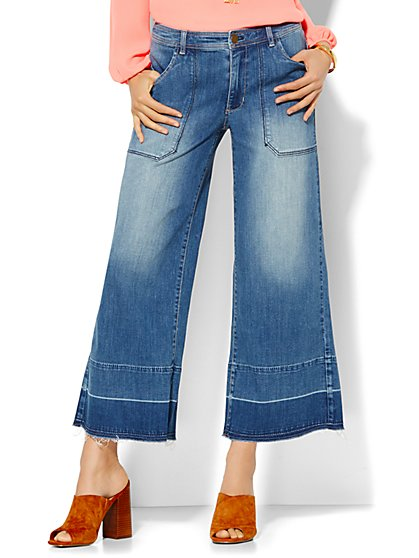 Soho Jeans - Culotte - Goldstone Blue Wash - New York & Company