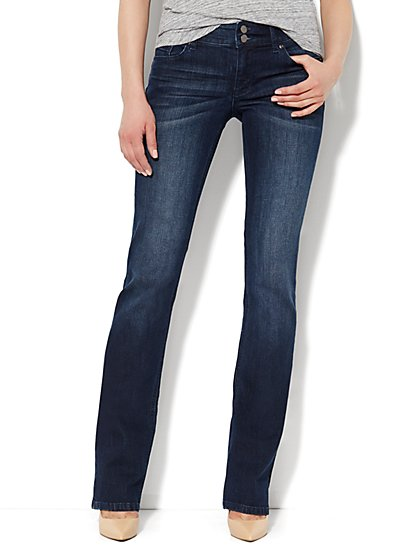 Soho Jeans - Curve Creator Bootcut - Dark Tide Wash - Tall - New York & Company