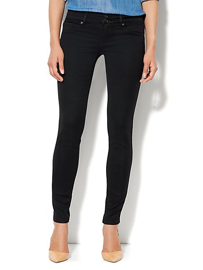 Soho Jeans Curve Creator Legging - Black - New York & Company