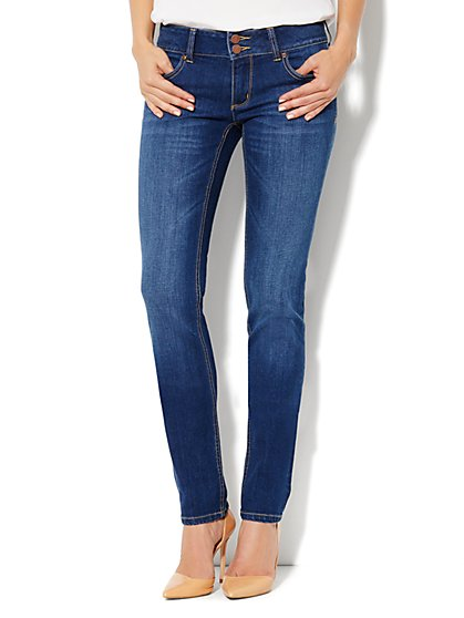 Soho Jeans Curve Creator Skinny - Bayside Blue Wash - New York & Company