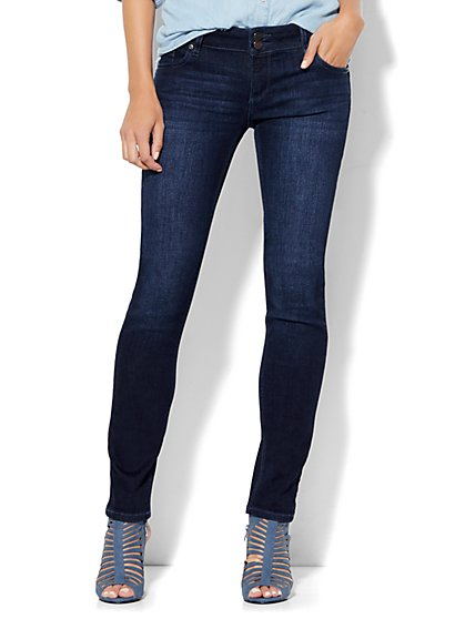 Soho Jeans - Curve Creator Skinny - Endless Blue Wash  - New York & Company